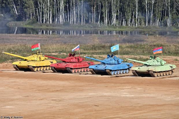 Tank games (Tank Biathlon