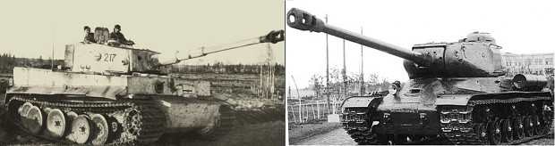 Tiger I vs IS-2