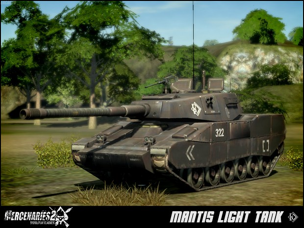 Universal Petroleum Mantis Light Tank
