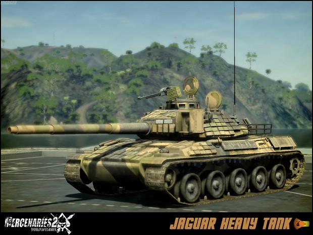 Venezuelan Army Jaguar Heavy Tank