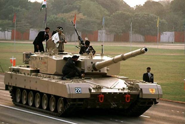 Arjun. Indian MBT.