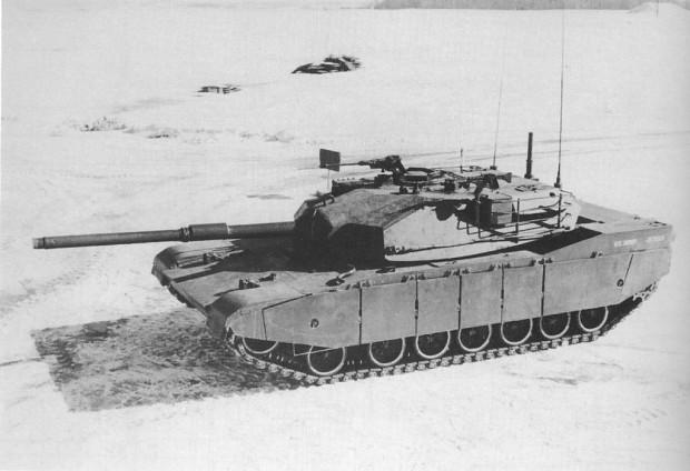 Chrysler XM1 prototype. image - Tank Lovers Group - Mod DB
