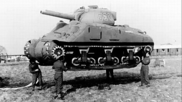 Decoy Inflatable Army Tank