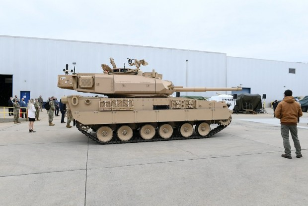 general dynamics land systems unveils new light tank - Griffin 2