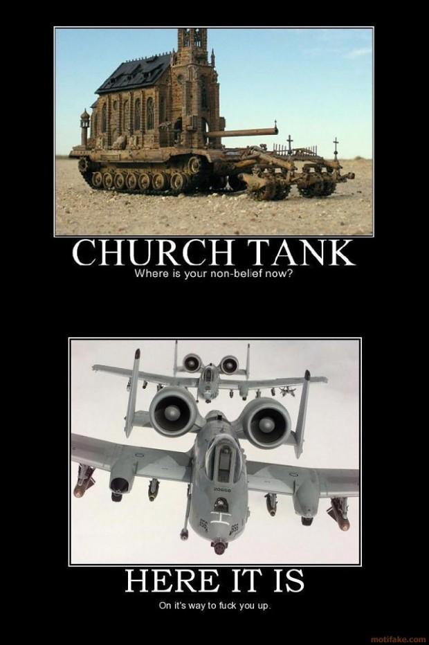 demotivation-tank style image