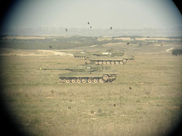 Leo 2E sights
