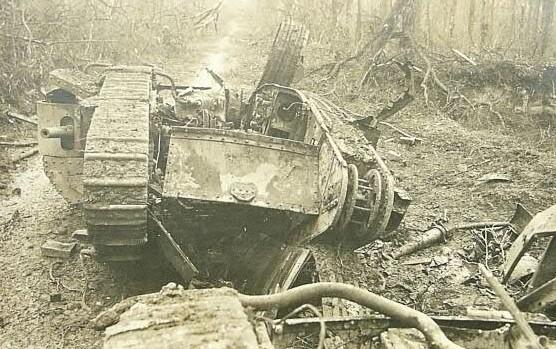 Mark IV wreck