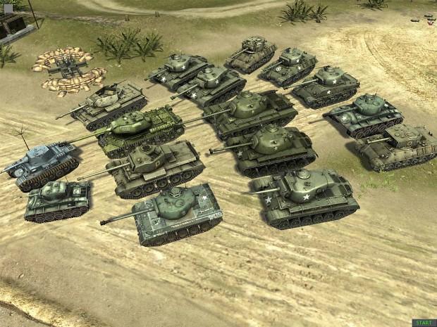 Random modded tanks