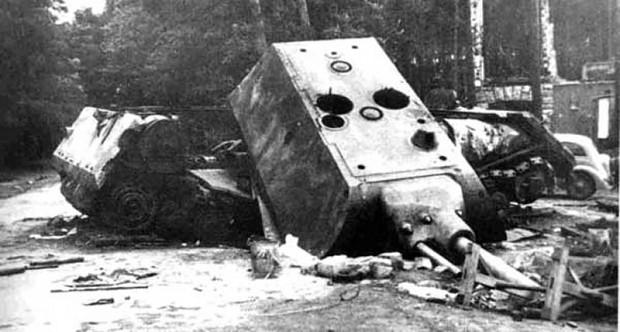 Maus heavy tank