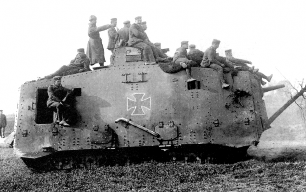 Our great-grandfathers tank!