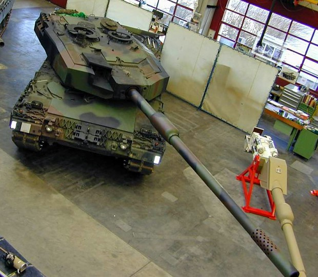 Swiss Leopard 2 (Pz87) with 140mm gun