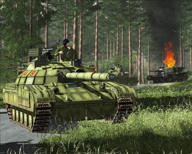 T-64 in Arma 1