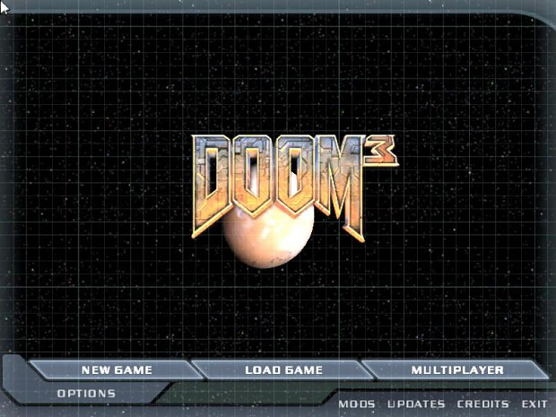 pause screen DooM3