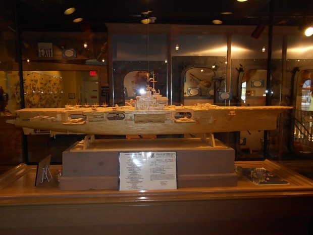 Matchstick USS Forrestal