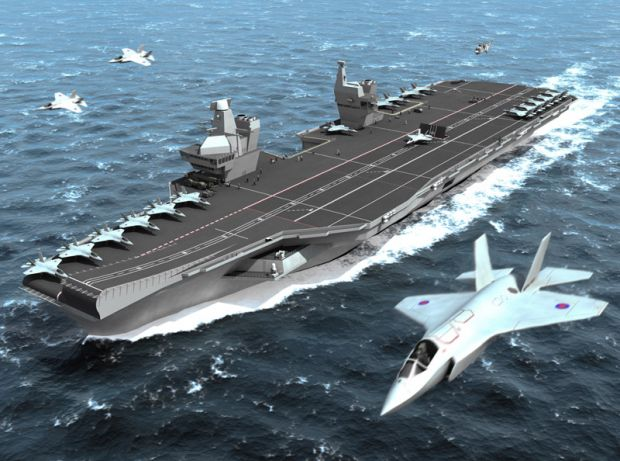 Queen Elizabeth class aircraft carrier
