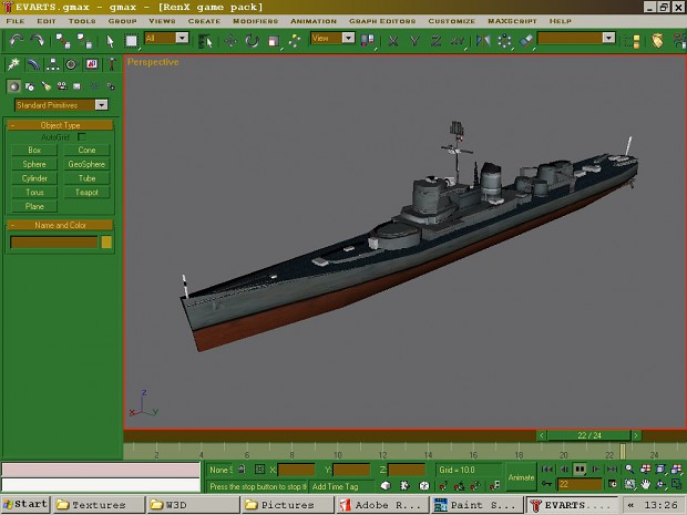 Unused Models for a cancelled WWII ZH Mod
