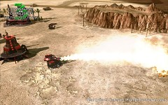 Tiberian Apocalypse: Flamethrower Turret