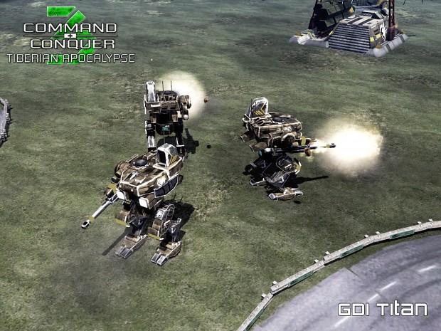 Tiberian Apocalypse - GDI Titan