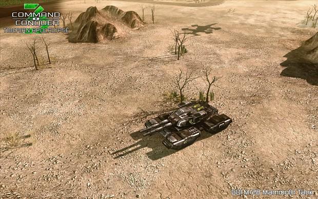 Tiberian Apocalypse: GDI M-28 Mammoth