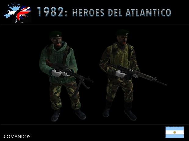 1982 : Heroes del Atlantico