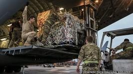 U.S. sends aid to Nepal.
