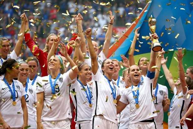 U.S.A. wins FIFA Women's World Cup