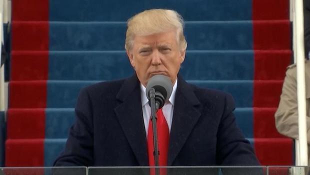 The 45th Presidents inaugural speech.