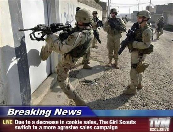 Just buy their goddamn cookies...please.