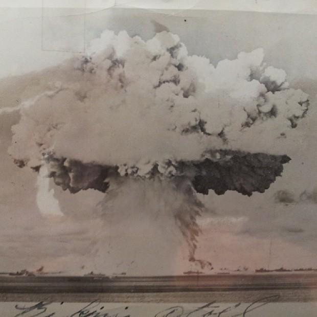 Bikini Atoll nuke test