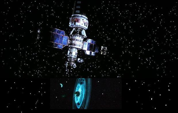 Space cowboys Satelite and armageddon