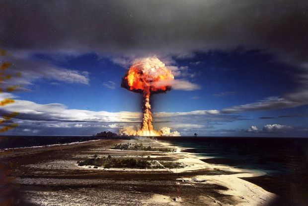 Nuclear blasts