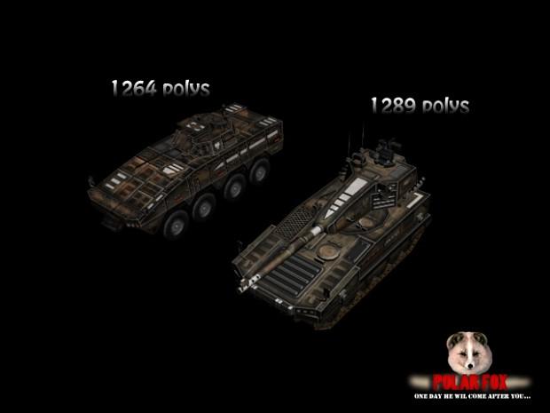 Wozy bojowe polskie