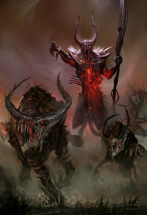 Presenting the Lord of Chaos news - Divinity 2 Concept Art Contest ...