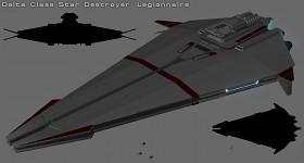 Delta-class Destroyer WIP 01