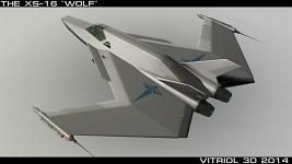 XS-16 Wolf - Orbital Fighter
