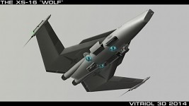 XS-16 Wolf - Orbital Fighter