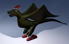 Santa DragonWIP