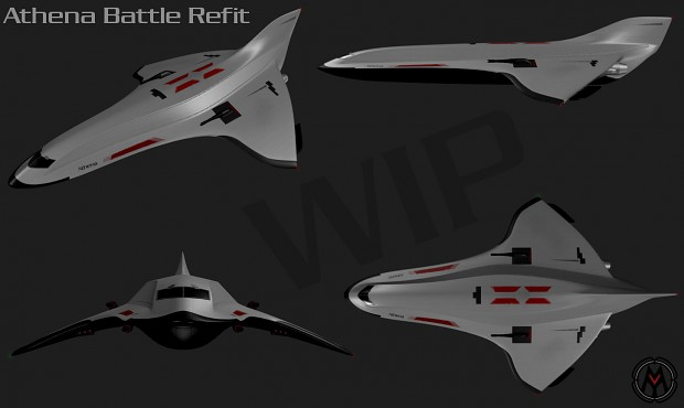 Battle Athena Refit WIP01