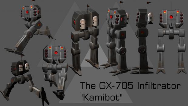 Kamibot Lowpoly