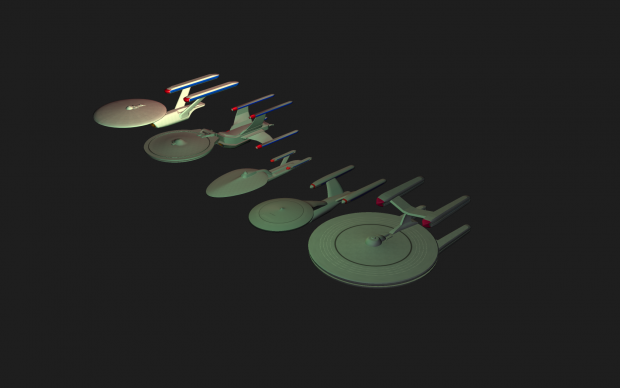 MY Star Trek Starships