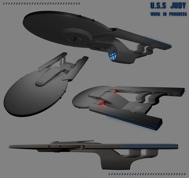USS Judy - Work In Progress