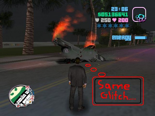 gta vice city car glitch image funny moments mod db. Black Bedroom Furniture Sets. Home Design Ideas