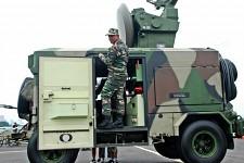 Oerlikon 35mm Skyguard Radar GBAD