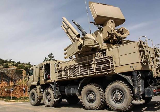Syrian Arab Army's Pantsir-S1