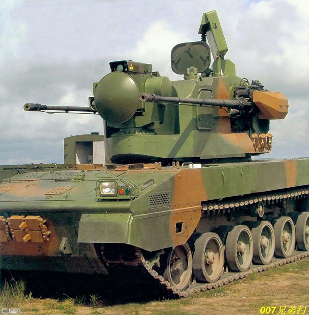 china Gepard self-propelled anti-aircraft gun?
