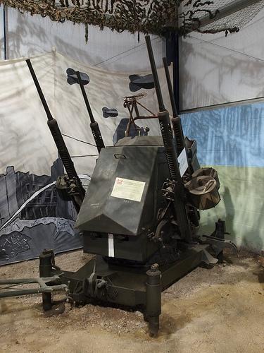 Polish Polsten Quad 20mm Aa Platform Image Air Defense