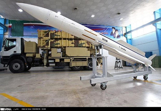 Sayyad 2 (Hunter II) Surface-to-Air Missile