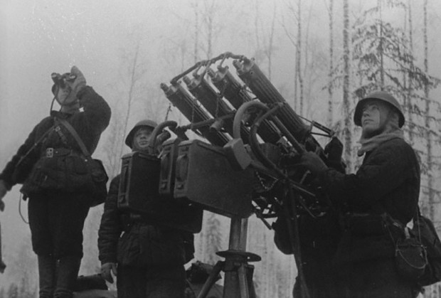 Maxim anti-aircraft gun