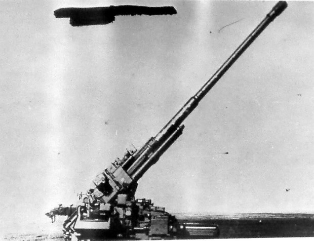 KM 52 – super-heavy Soviet anti-aircraft gun, 1952