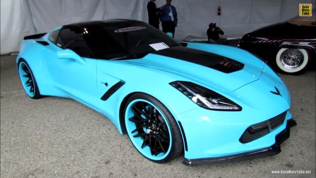 Wide body Corvette C7_ front